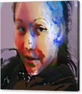 Kime Canvas Print