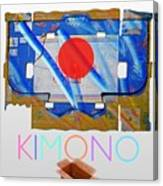Kimono Poster Canvas Print