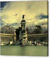 King Alfonso Monument  Canvas Print