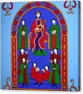 King David And His Musicians Canvas Print