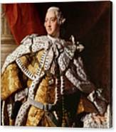 King George IIi Canvas Print