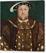 King Henry V I I I Canvas Print