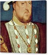 King Henry Viii  Canvas Print