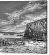 King Homestead_bw-1603 Canvas Print