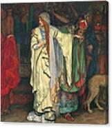 King Lear. Act I Scene I Canvas Print