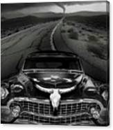 King Of The Highway Canvas Print