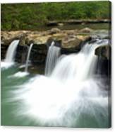 King River Falls Canvas Print