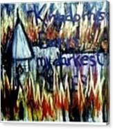 Kingdoms Burn Canvas Print