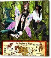 Kingdoms Of Magic Fairy Poster Canvas Print