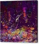 Kingfisher Bird Alcedo Atthis  Canvas Print