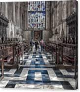 Kings Altar Canvas Print