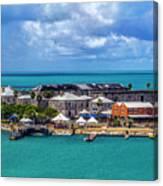 Kings Wharf, Bermuda Canvas Print