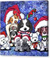 Kiniart Christmas Party Canvas Print
