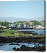 Kinvara Seaside Village Galway Ireland Canvas Print