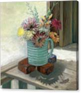 Kiowas' Porch Canvas Print