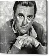 Kirk Douglas Hollywood Actor Canvas Print