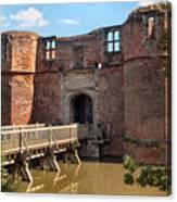 Kirkby Muxloe Castle Canvas Print