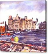 Kirkwall Harbour Canvas Print