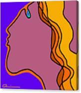 Kiss 5 Canvas Print