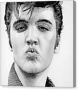 Kiss Me Quick Canvas Print