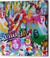 Kiss The Rainbow Canvas Print