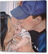Kisses For Baby Canvas Print