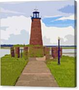 Kissimmee Lighthouse Canvas Print