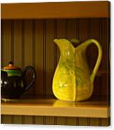 Kitchen Cupboard Canvas Print