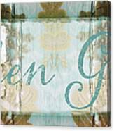 Kitchen Goddess Canvas Print