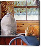 Kitchen Scene Canvas Print