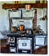Kitchen - The Vintage Stove Canvas Print