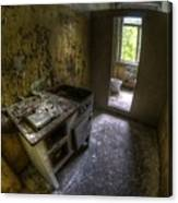Kitchen With A Loo Canvas Print
