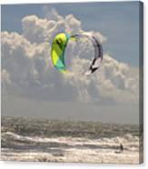 Kite Boarding Buxton Obx  Canvas Print