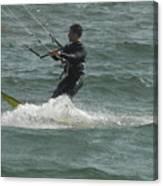 Kite Surfing 11 Canvas Print