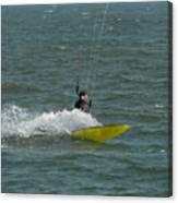 Kite Surfing 18 Canvas Print