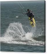 Kite Surfing 20 Canvas Print
