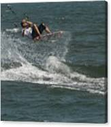 Kite Surfing 22 Canvas Print