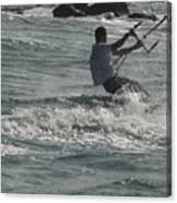 Kite Surfing 23 Canvas Print