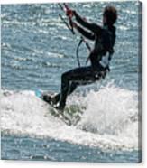 Kite Surfing Canvas Print