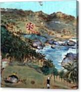 Kites At Bathsheba Canvas Print