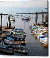 Kittery Point Fishing Boats Canvas Print