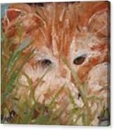 Kitty Adventures Canvas Print