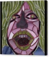 Kiwi - Fantasy Face No. 10 Canvas Print