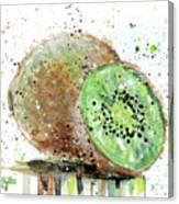 Kiwi 2 Canvas Print