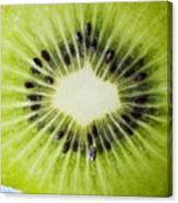 Kiwi Cut Canvas Print