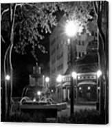 Kleman Plaza At Night Canvas Print