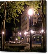 Kleman Plaza Canvas Print
