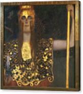 Klimt - Pallas Athena 1898 Canvas Print
