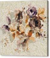 Klimt's Garden Canvas Print