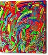 Klutter  Canvas Print